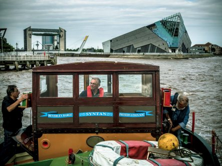 Syntan river journey - Drypool to Hull Marina