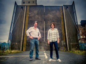 Open Bridges Rich and Lou Duffy-Howard by Scott St. Bridge photograph credit Richard Duffy-Howard