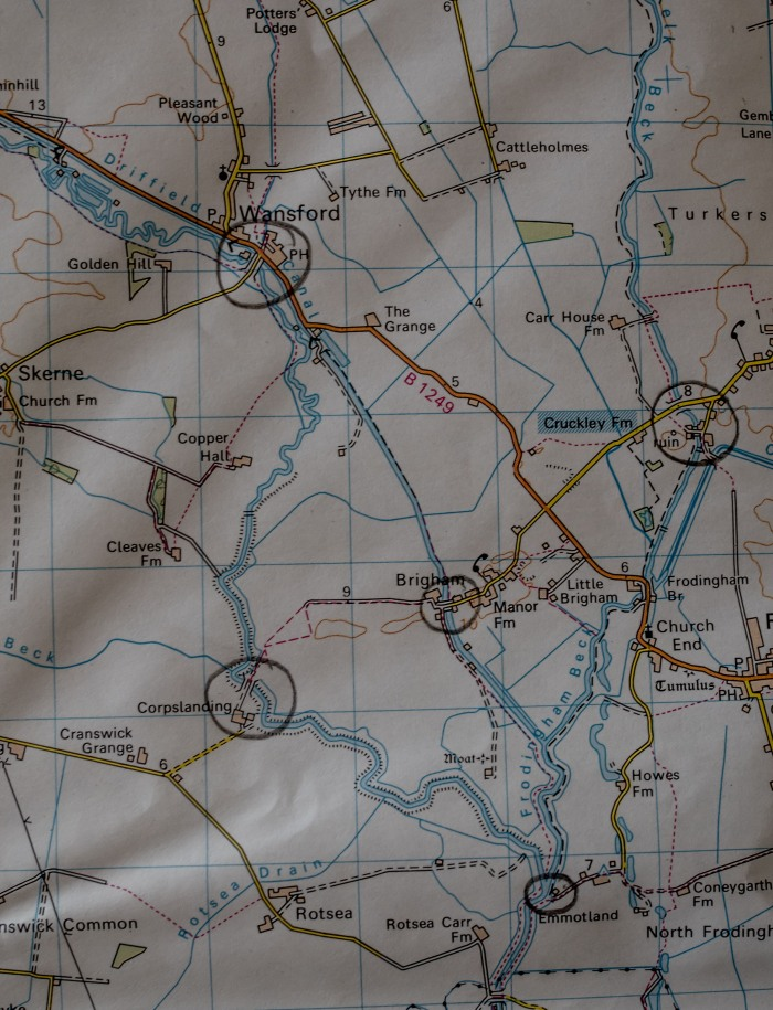 Emmotland map and surrounds