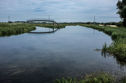 Open Bridges - River Hull at Emmotland photograph by Richard Duffy-Howard