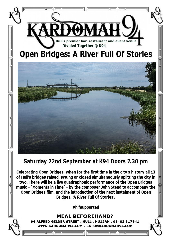 Open Bridges Anniversary Night