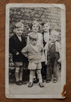 Janet's 5 oldest siblings, brought up on a barge. Open Bridges: River Full of Stories Photograph courtesy of Janet Anderson