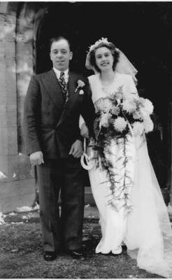 Charles and Joan Bateman 1950