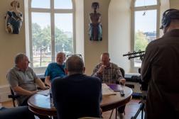 Dave Allam, John Drury, Neville Pinder Hull Maritime Museum 01.09.2018