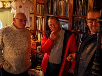 Ken Knox, Glyn Holt and Russ Litten