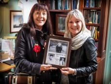 Karen Walker and Linda Bragg (nee Hubbard)
