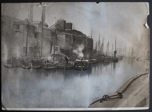 Keels in the Old Harbour late 19th Century