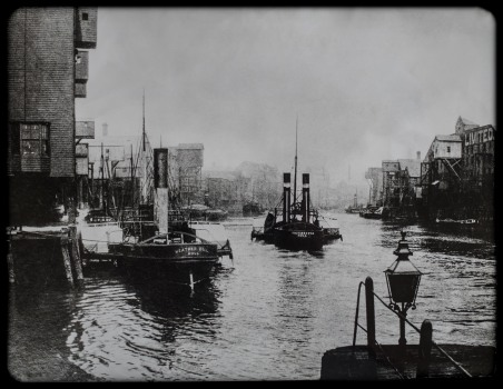 The Old Harbour on the River Hull 1890