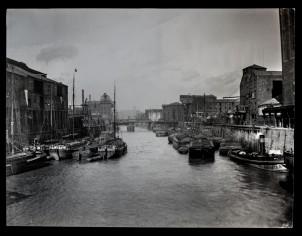 North Bridge from Salthouse Lane Bridge 8th April 1901