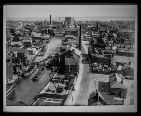 Taken from the top of R and W Paul's Mill looking south July 1949