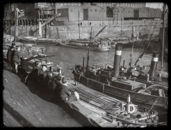 1950s looking across to the Old Harbour