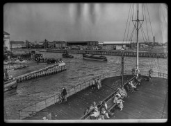 Corporation Pier 9th October 1957