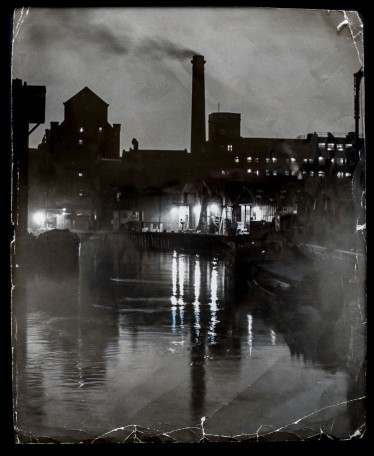 1958 Sculcoates' Night, Industrial Fairyland - taken from Sculcoates Bridge