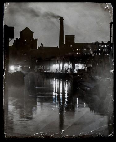 1958 Sculcoates' Night, Industrial Fairyland - taken from Sculcoates Bridge