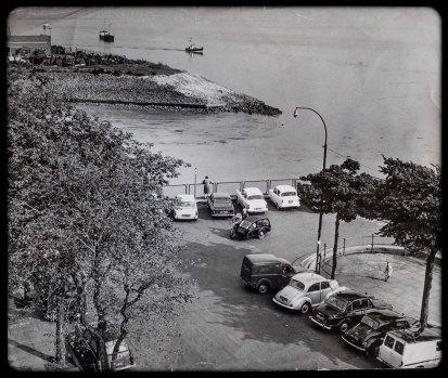 Ship Watchers Corporation Pier 13th September 1968 by John Paddison