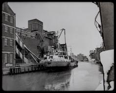 Chambers and Fargus berth 14th January 1985