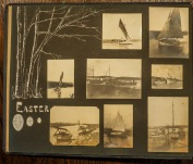 From Walter Silverwood's albums. Photos courtesy of and copyright Brigham Sailing Club