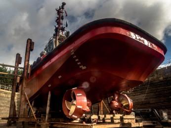 SMS Scotsman Dry Dock, Hull. Photo by Richard Duffy-Howard 02.10.2017