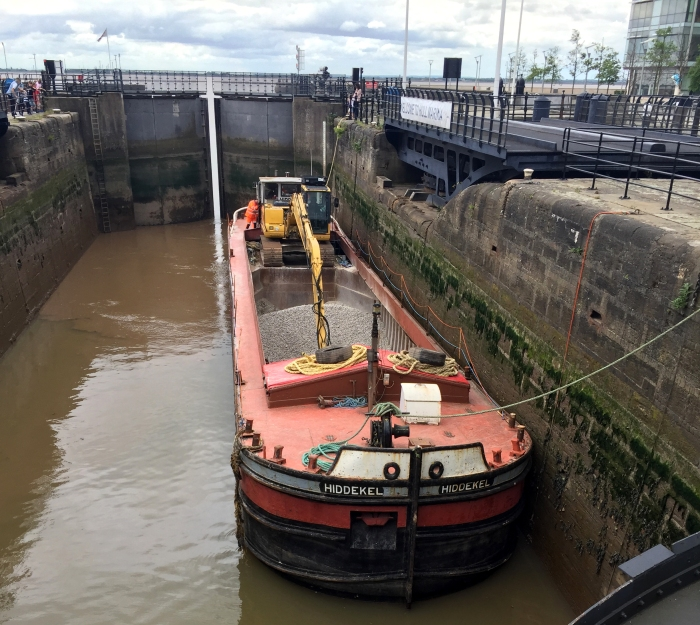 Hiddekel in Hull Marina 31st May 2019 by John Medland