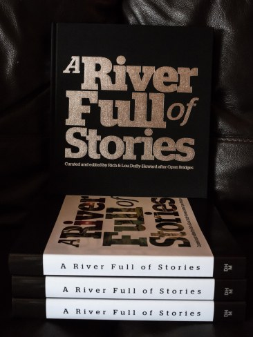 A River Full of Stories book and dust jacket off