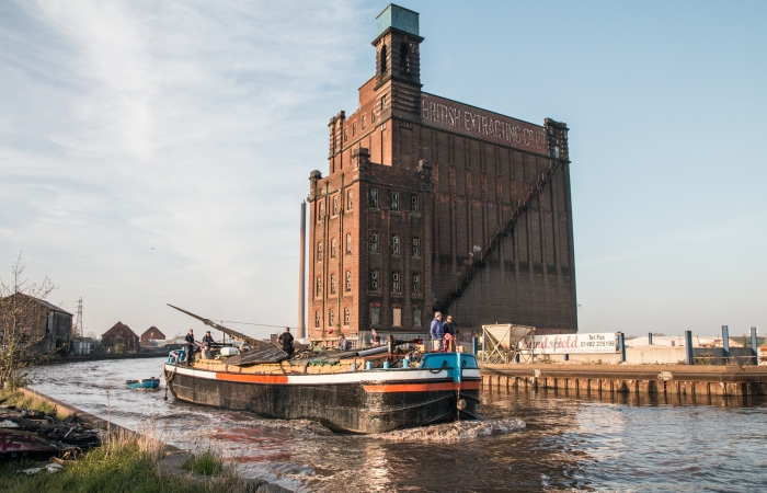 Comrade on the River Hull 2019 photograph by Syd Young