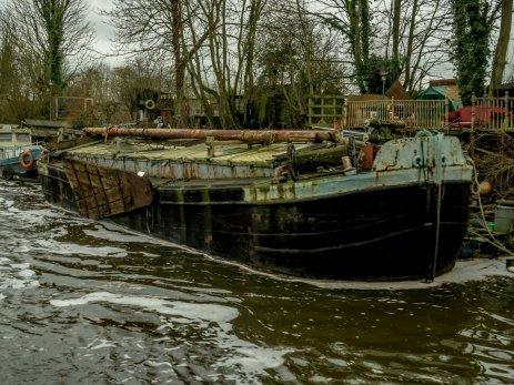 Barge at Bishopthorpe