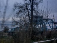 Boothferry Bridge by road on the way home